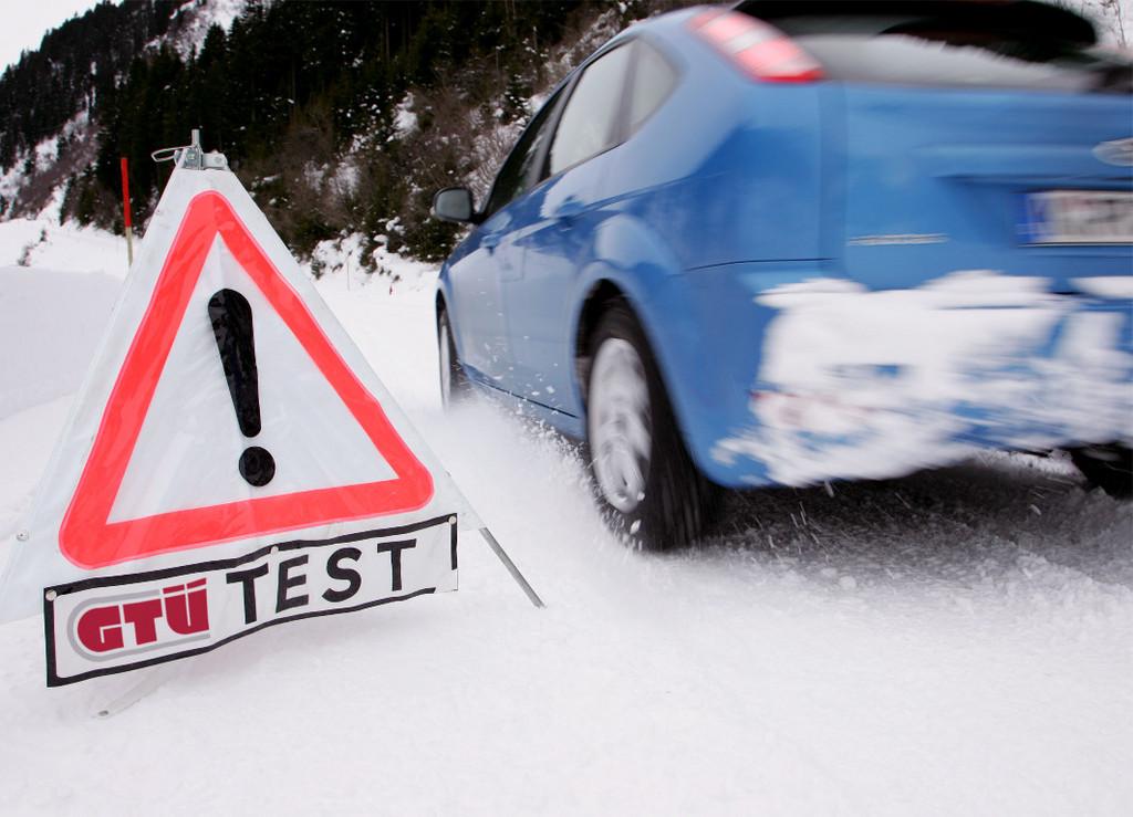 GTÜ untersucht Auswirkung der Profiltiefe auf die Fahreigenschaften im Winter.